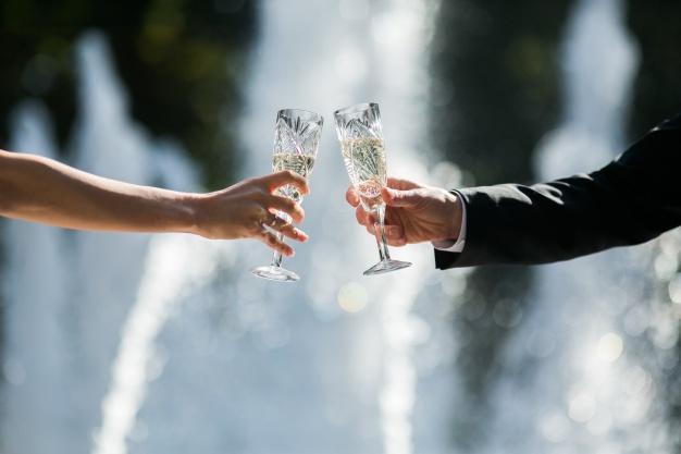 champagne til en begivenhed